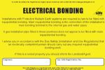 Pack of Electrical Bonding Labels